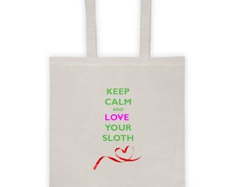 Love Your Sloth Tote bag