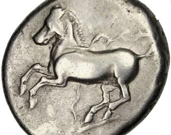 thrace maroneia stater maroneia ef(40-45) silver 10.65