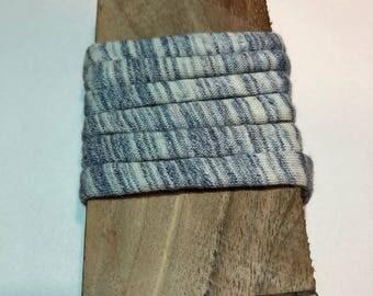 Grey Blue white mottled