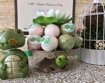Frog & Turtle Bath Bombs