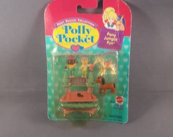POLLY POCKET pony jump in fun