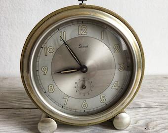 Vintage 1950's SCOUT alarm clock