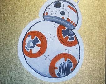 Star Wars BB8 11x17 Print