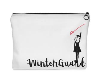 Winterguard (Sabre) - Carry All Pouch - Flat (Two Sizes) Winter Guard ColorGuard Color Guard