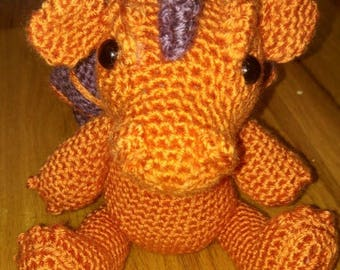 Swish The Dragon Amigurumi Pattern