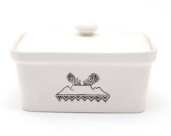 Royal Kaap Butter Dish