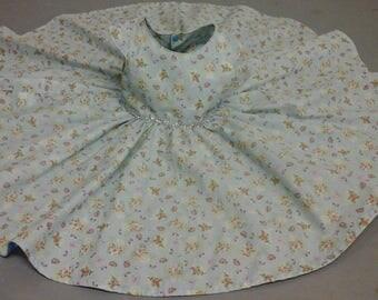 Blue 'Tea Party' dress