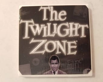 The Twilight Zone Ceramic Tile Coaster