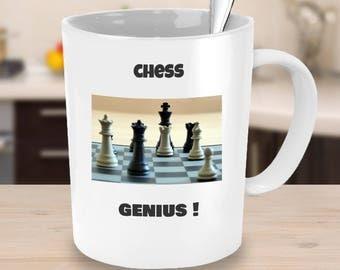 novelty chess coffee mug-chess players funny ideas