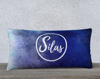 Custom Name Pillow, Original Abstract Pillow Case, Home Decor, Unique Gift, Pillow Case, Cozy Pillow Case,