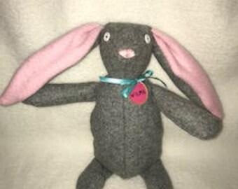 Handmade Cute Bunny/Childs Toy/Bunny Rabbit/Stuffed Animal