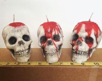 Made to Order Skull Candle