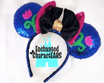 Princess Anna Ears Frozen Ears Custom Minnie Ears