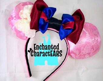 Mulan Ears Custom Minnie Ears