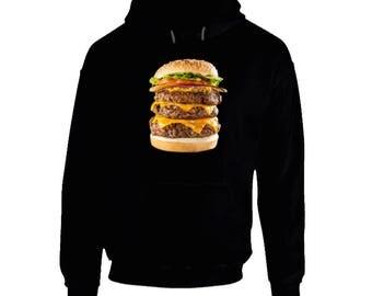 Big Cheeseburger High Def Hoodie
