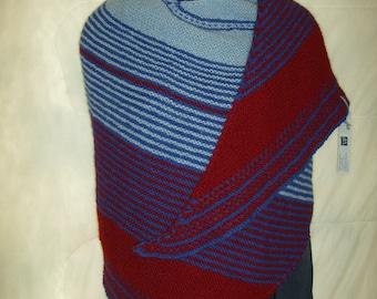 Luxurious warmth, soft Alpaca Drachenfel shawl
