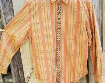 Hipster men's button up