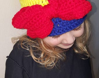 Handmade Snow white inspired hat