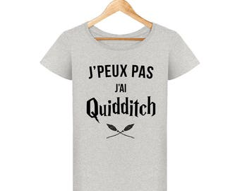 Harry potter T-shirt I can't I quidditch women