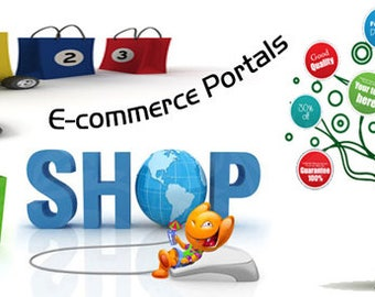 E-Commerce Website, Shopping Website, Online Store, Custom Website Design