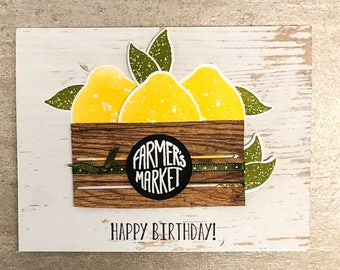 Zesty Birthday Card
