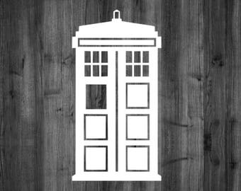 Doctor Who Tardis Decal