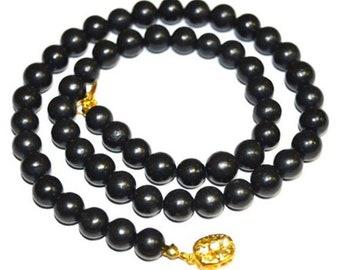 Shungite Necklace Beads Russia Karelia