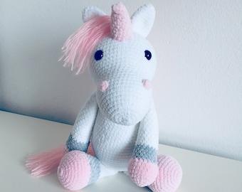 Made to order Unicorn crochet handmade