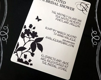 Custom Bridal shower Invites