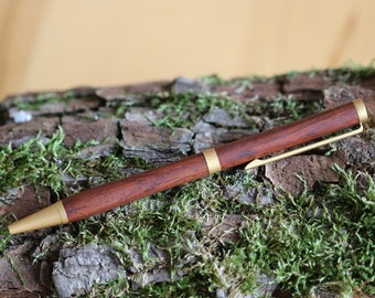 Ballpoint pen from Cocobolo