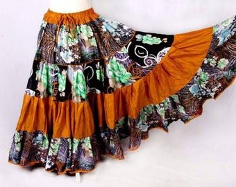 25Yard Deluxe Tribal Gypsy BellyDance Layer ATS Skirt