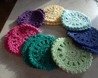 Crochet Costers, Set of 2