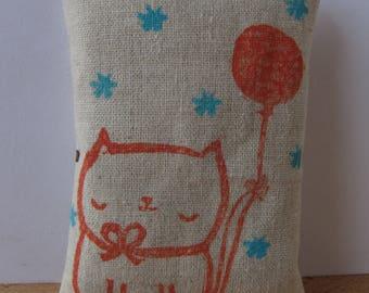 Kitty with Balloon Organic Catnip Toy