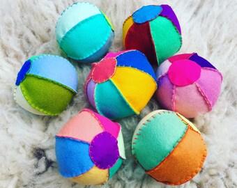Grab bag 100% merino felt wool ball ready to ship