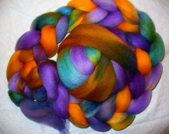 Falkland Wool Breed Top for Hand Spinning Yarn or Felting