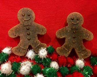 Pair of Gingerbread Men Soaps