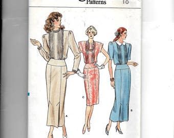 Vogue Misses' Dress Pattern 9808