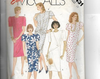 McCall's Misses' Dress Pattern 2431