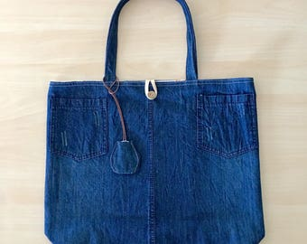 Deepblue Everyday Tote --- lightweight and foldable