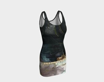 Nightfall Fitted Dress