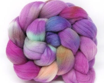 Merino Wool Hand Dyed Fine Combed Top 21 Micron 100gms - FM59