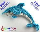 Dolphin + Sea star crochet Pattern