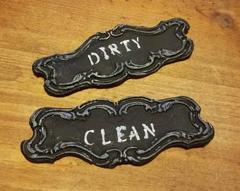 Dirty/Clean Dishwasher Magnet Set