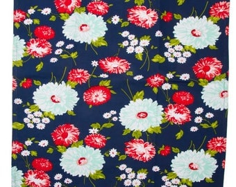 """16"""" Toweling - The Good Life - Scrumptious in Navy - 920-270 - by Bonnie and Camille for Moda Fabrics"""