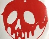 Poison Apple inspired vinyl sticker decal car window sticker