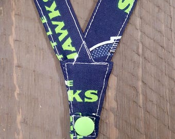 Super no-slip Secure and Comfortable Nebulizer Head Strap! (Seattle Seahawks)