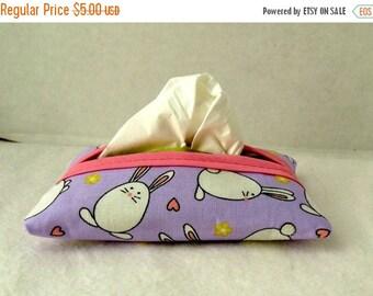 Flash Sale Bunny Pocket Tissue Holder Easter Tissue Cozy Tissue Case