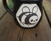 RESERVED bee mug