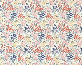 Japanese Fabric flower garden - cotton lawn - C - 50cm