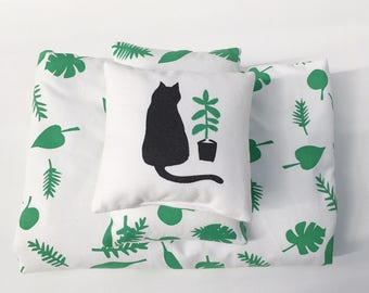 leaves mini bedding set